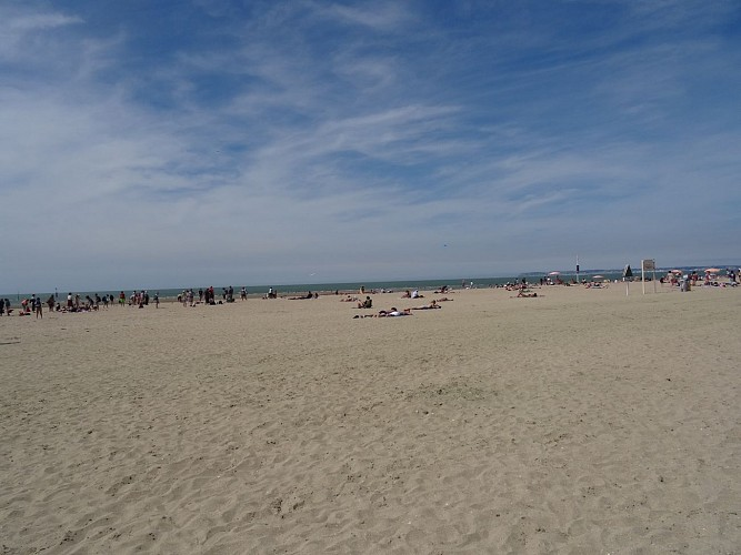 Trouville-sur-Mer beach