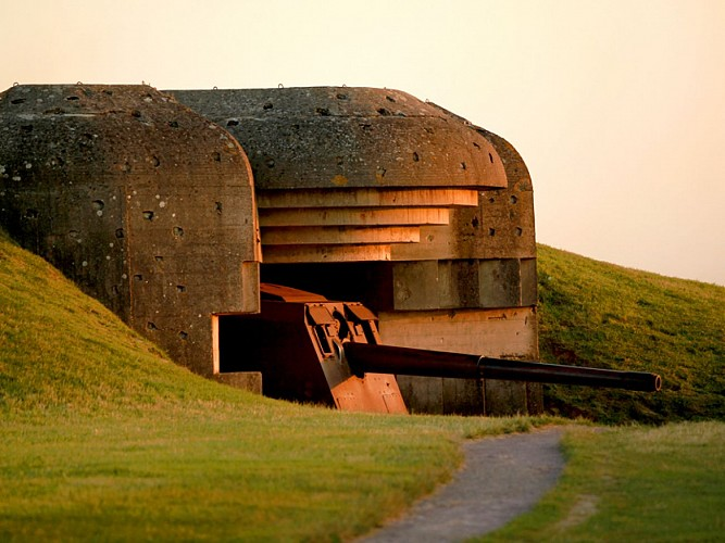German Military Battery Site