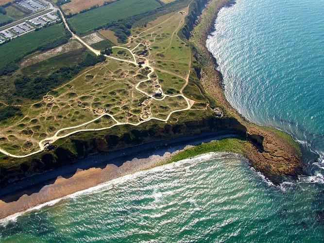 Site of the Pointe du Hoc