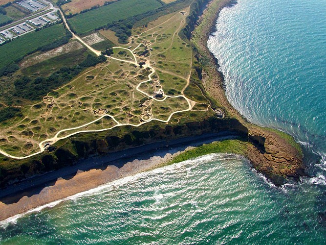 Site of the Pointe du Hoc