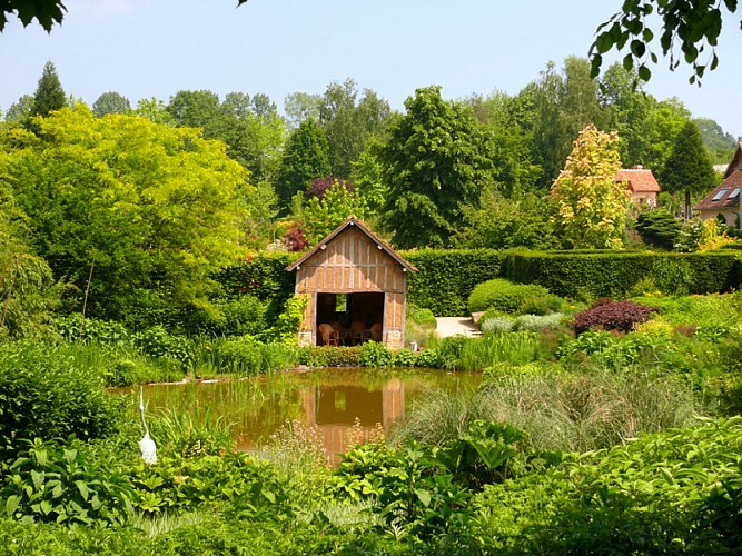 The Jardins du Pays d'Auge Gardens and Eco-museum