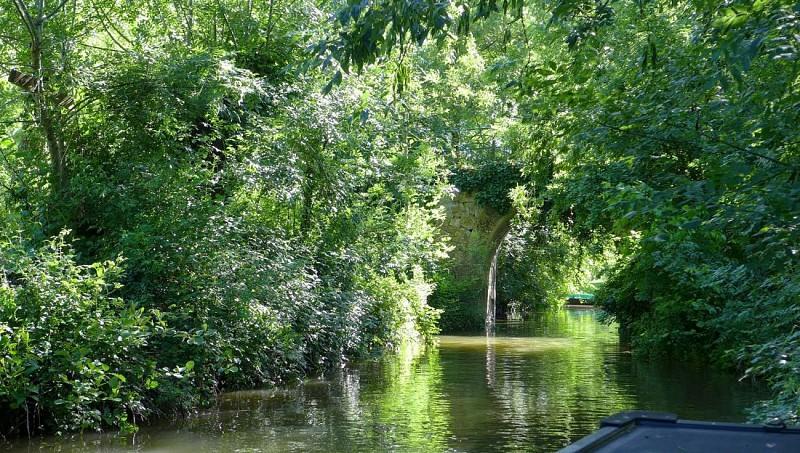 Sainte-Sabine - balade en barque