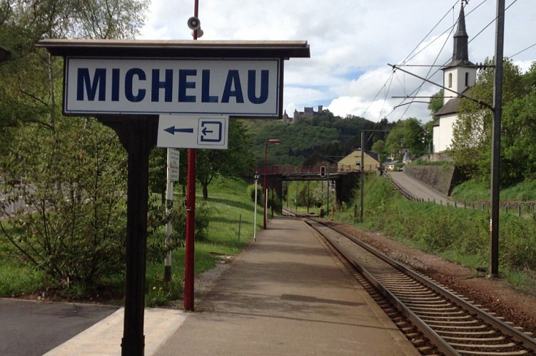 Michelau train station