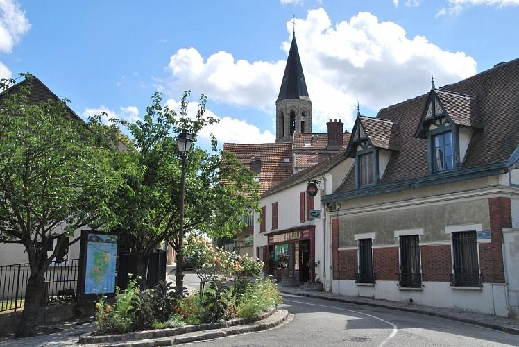 Le village de Louveciennes