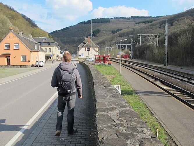 Goebelsmühle train station