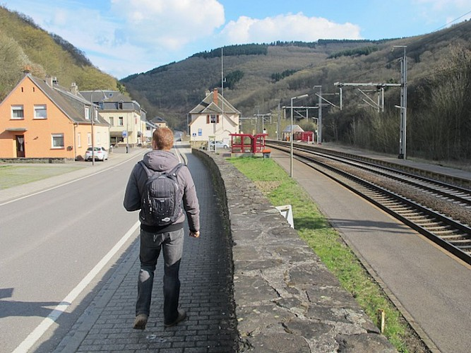 Goebelsmühle la gare ferroviaire