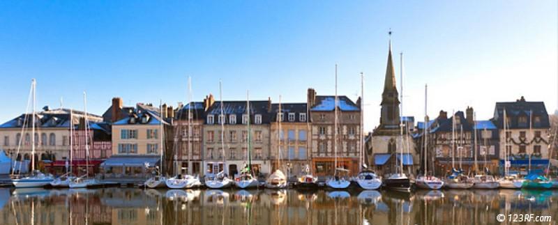 Visite guidée à pied de Honfleur - Croisière sur la Seine avec CroisiEurope