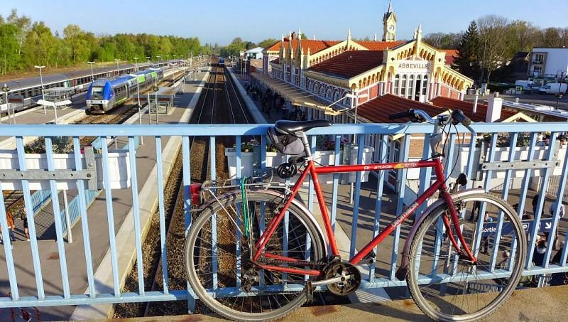 À la gare d'Abbeville