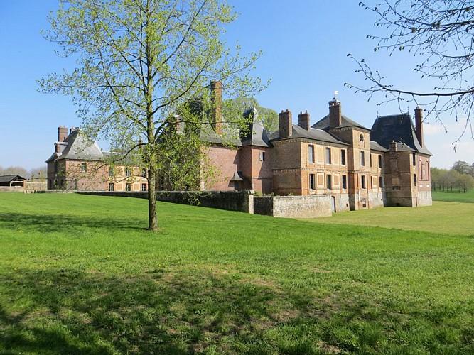 Château de Montigny du XVIIe siècle (privé)