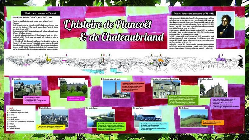 L'histoire de Plancoët et de Chateaubriand