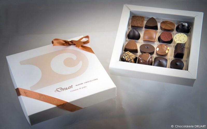 Lieu de production des Chocolats Druart