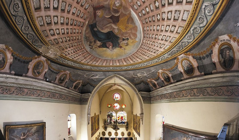 Trachin chapel (14th century)