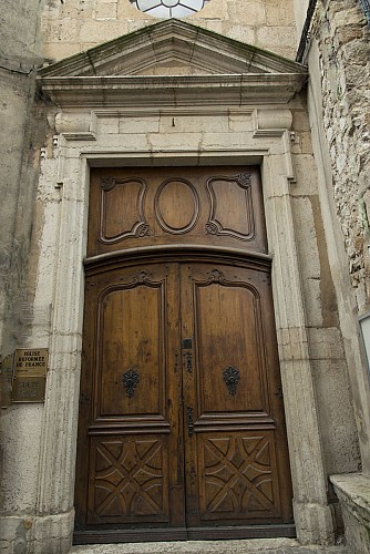 Temple de l'Eglise Réformée de France