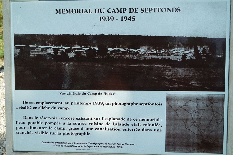 Memorial du camp de Septfonds 1939-1945