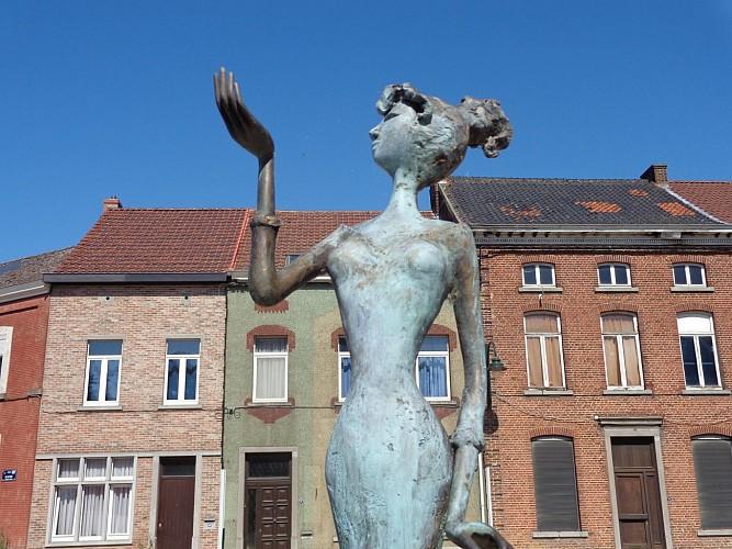 La sculpture « Eternelle »