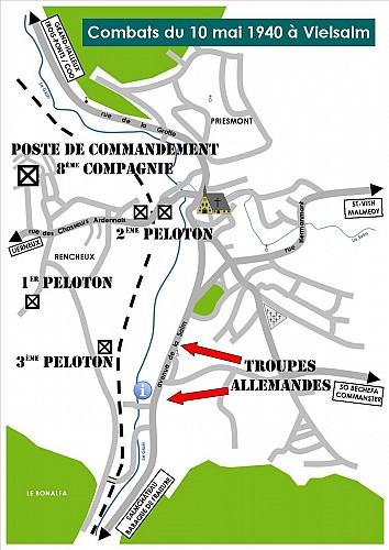10 mai 1940: Combats à Vielsalm