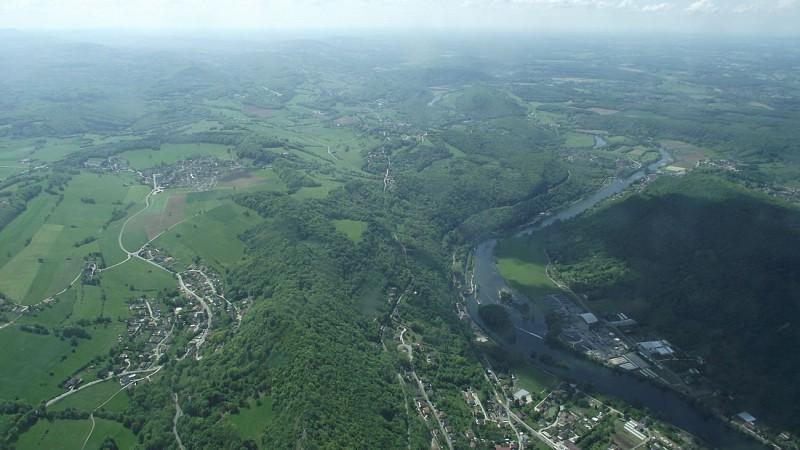 Survol de Besançon