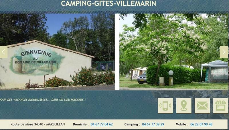 Camping - Gîtes Domaine viticole de Villemarin