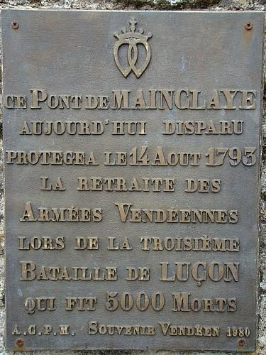 L'ancien Pont de Mainclaye