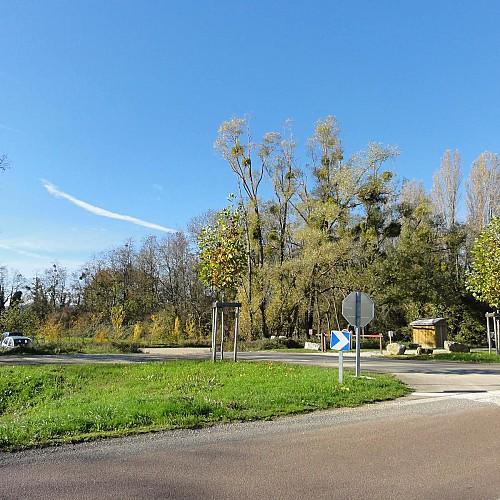 Parking des étangs d'Or