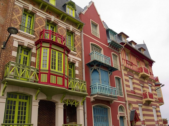 Quartier Balnéaire, villas de Mers-les-Bains