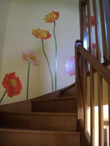 Escalier, Gite 1, Ferme de La poterie