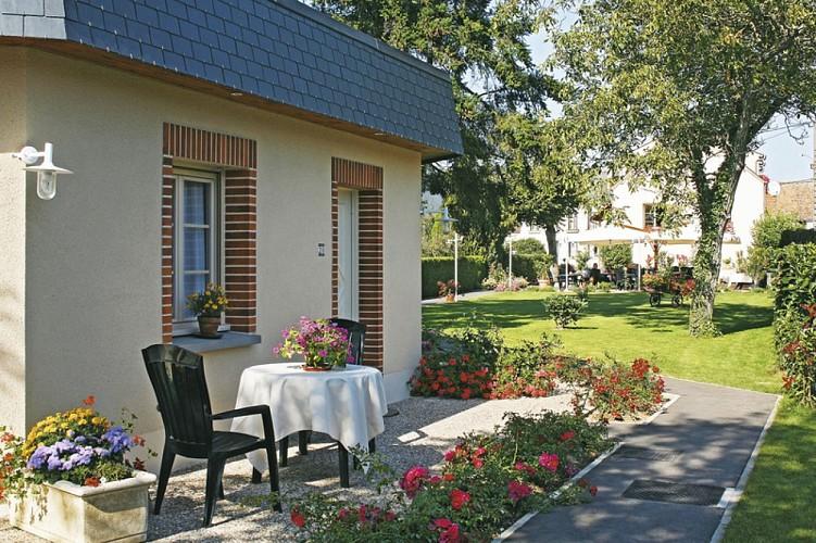 Ousson sur Loire-Le clos du vigneron- terrasse