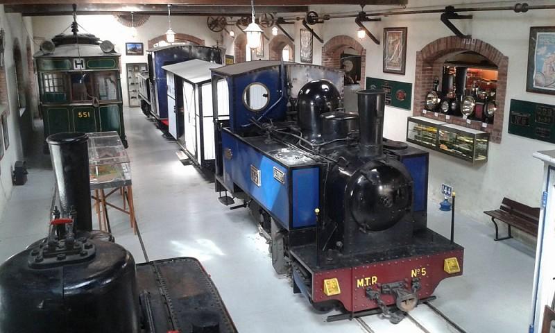 Train à vapeur - Musée des Transports Pithiviers