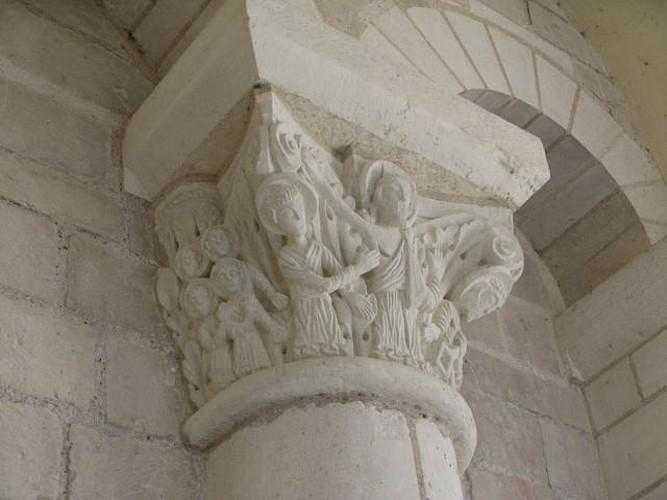 abbaye fleury chapiteau