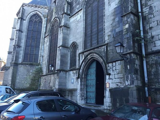 La collégiale Saint-Ursmer