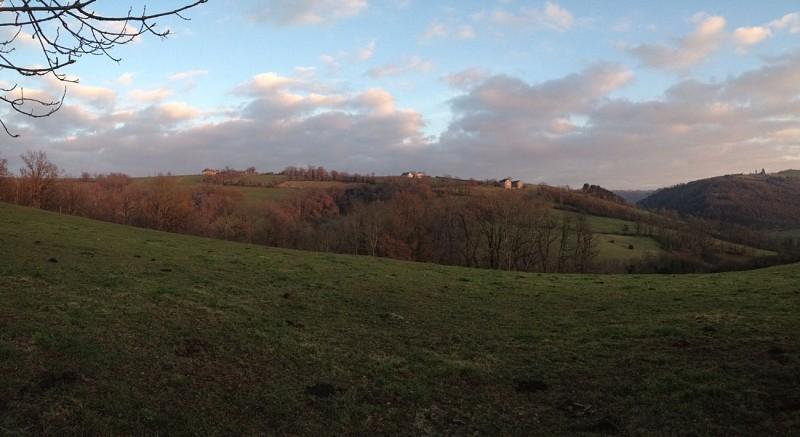 Point de vue sur les Igues et sur le village