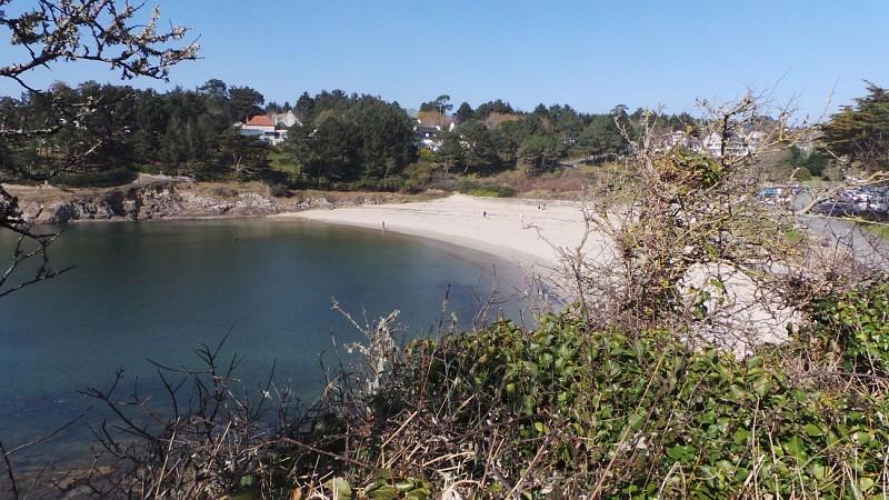 La plage de Kerfany-les-Pins