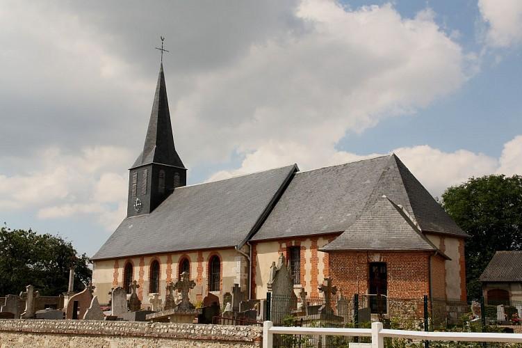 Point de départ : église de Bois-d'Ennebourg