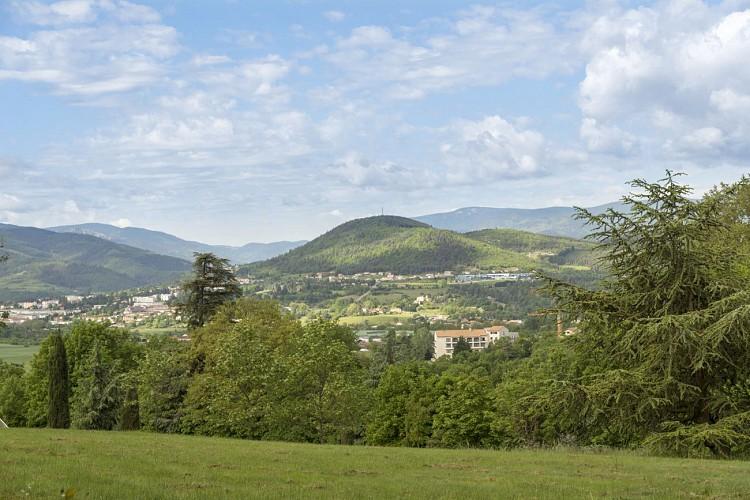 Parcours Marche Randonnée Le Montmiandon Annonay