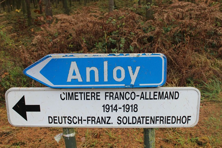Le champs de bataille d'Anloy