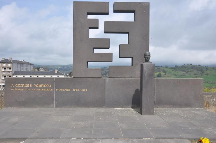 Le monument Georges Pompidou