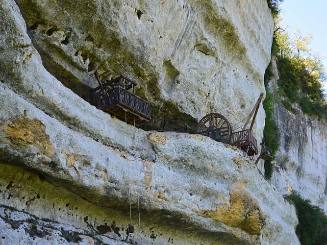 La Roque St Christophe