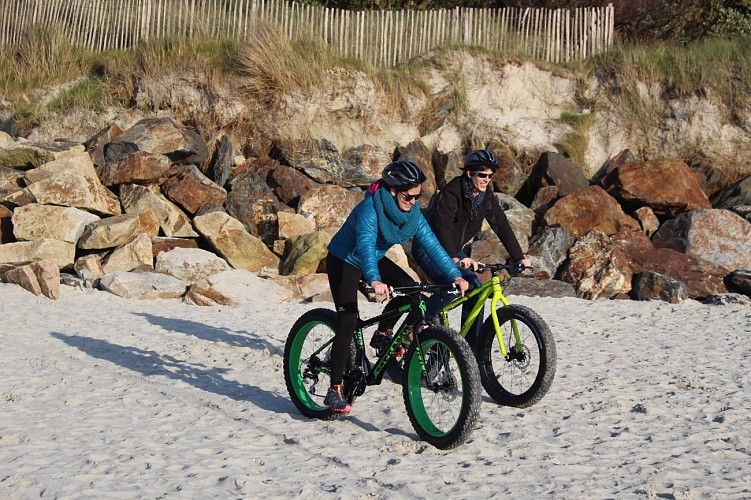 BEACH BIKING, Explorez le littoral par la plage en FAT BIKE
