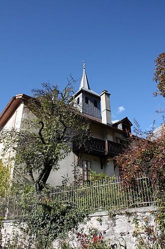 La chapelle de Joux et son école