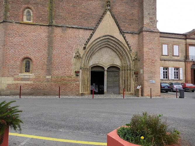 Le portail de la cathédrale