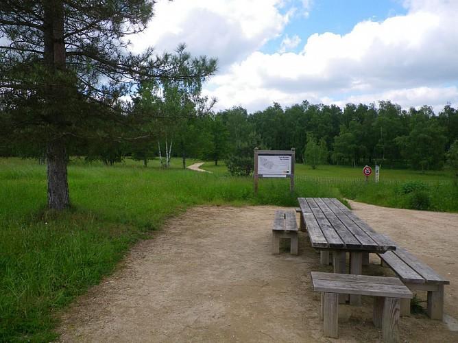 Aire d'accueil du parc naturel départemental