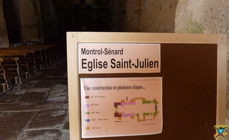 Église Saint-Julien de Montrol-Sénard