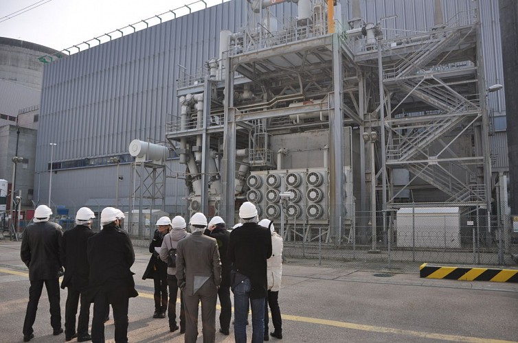 Penly nuclear centre of electricity production