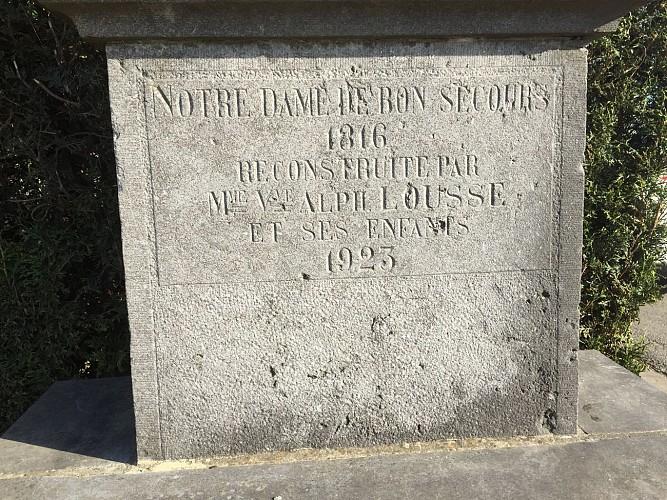 Chapelle Notre Dame de Bon Secours ou de la Femme