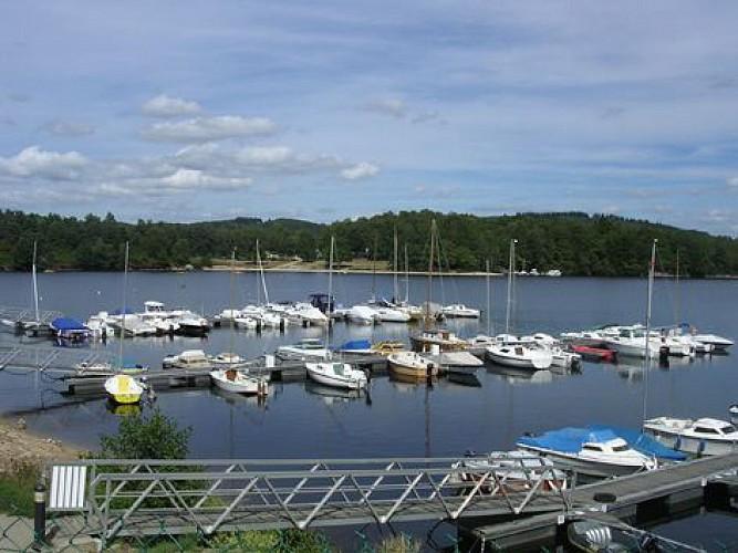 6 Ports publics : Lac de Vassivière