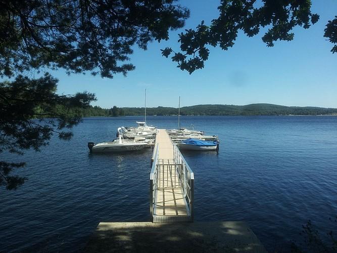 Ports publics du Lac de Vassivière