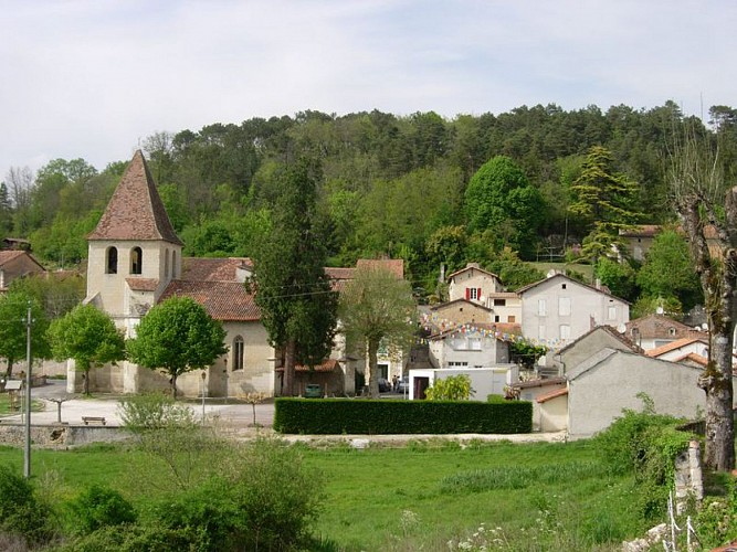 Bourg de St Aquilin