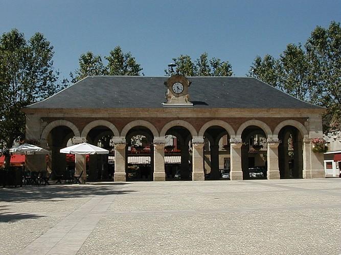 La place de la Bastide