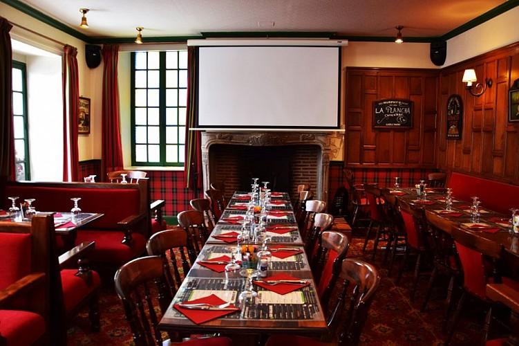 Castle Tavern bar