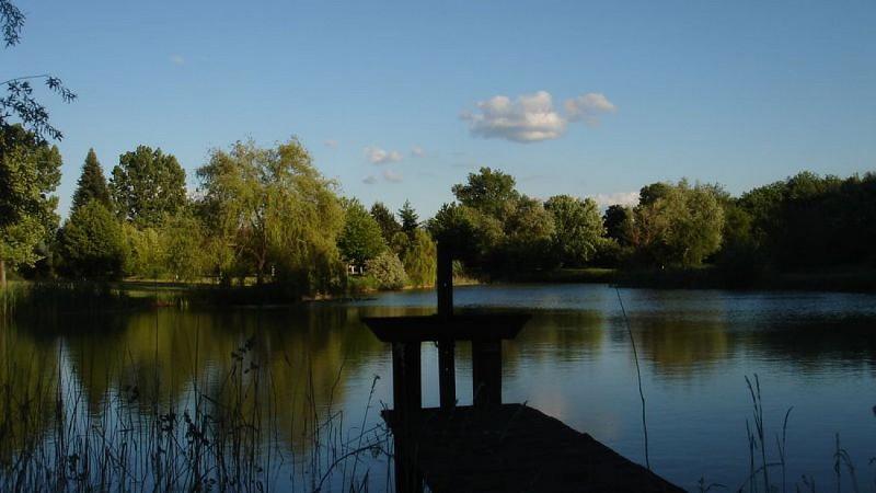 vue de la bonde de l'étang